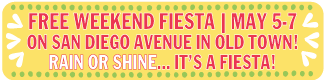 Free Weekend Fiesta, May 5-7