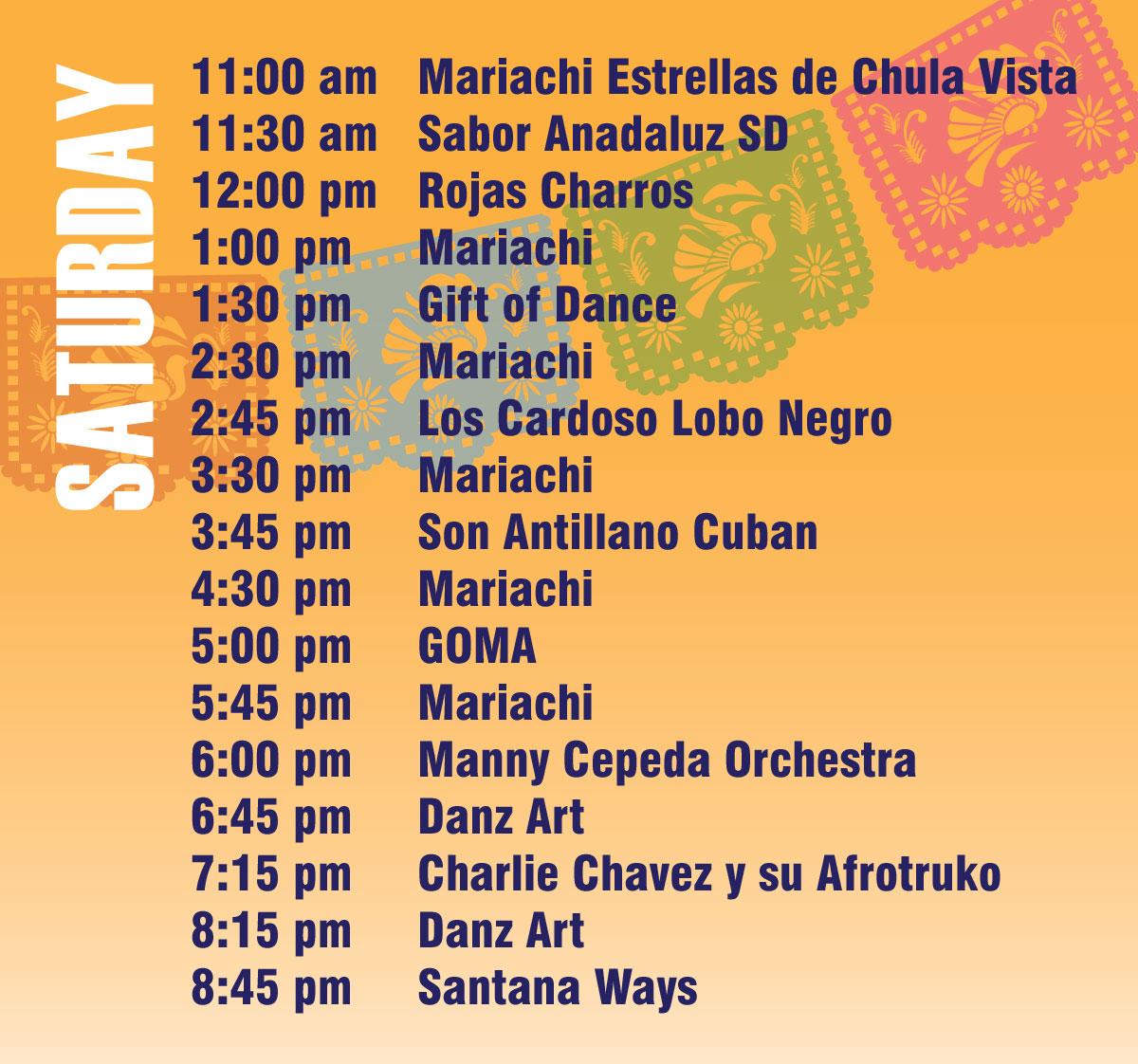 Fiesta2018_MusicLineup_web_Sat-1 cinco de mayo san diego 2018
